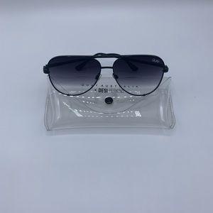 Quay Australia High Key Mini Aviator sunglasses
